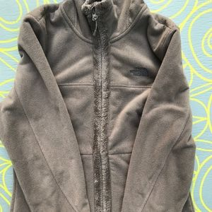 Forest Green North Face Sweater
